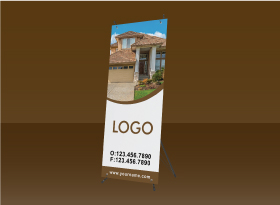 X-Frame Banners - Independent Realtor