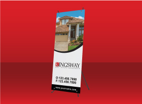 X-Frame Banners - Kingsway