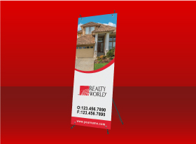 X-Frame Banners - Realty World