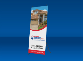 REMAX REALTRON </br>X-Frame Banners