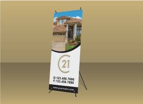 X-Frame Banners - Century 21