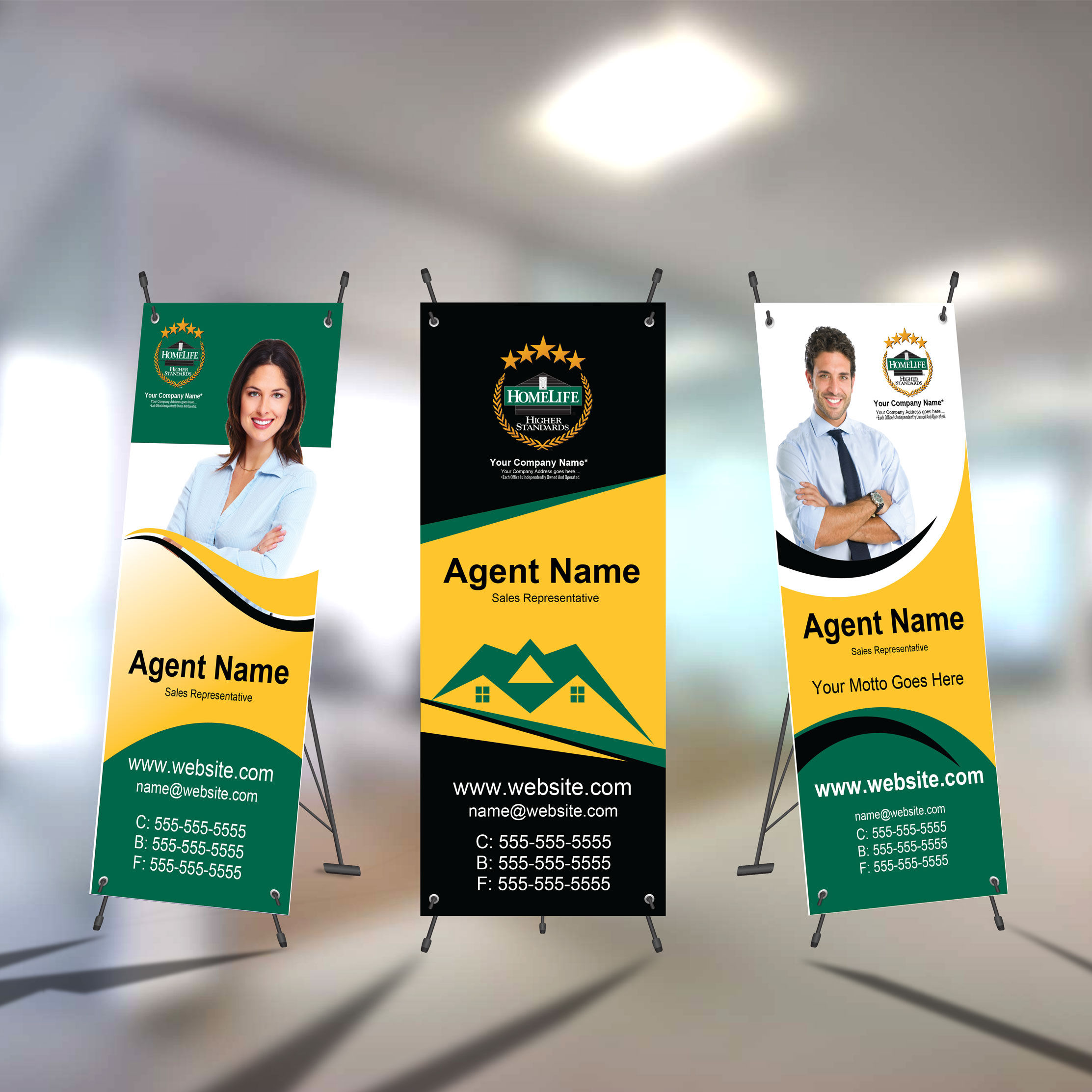 X-Frame Banners<br><br> - HomeLife