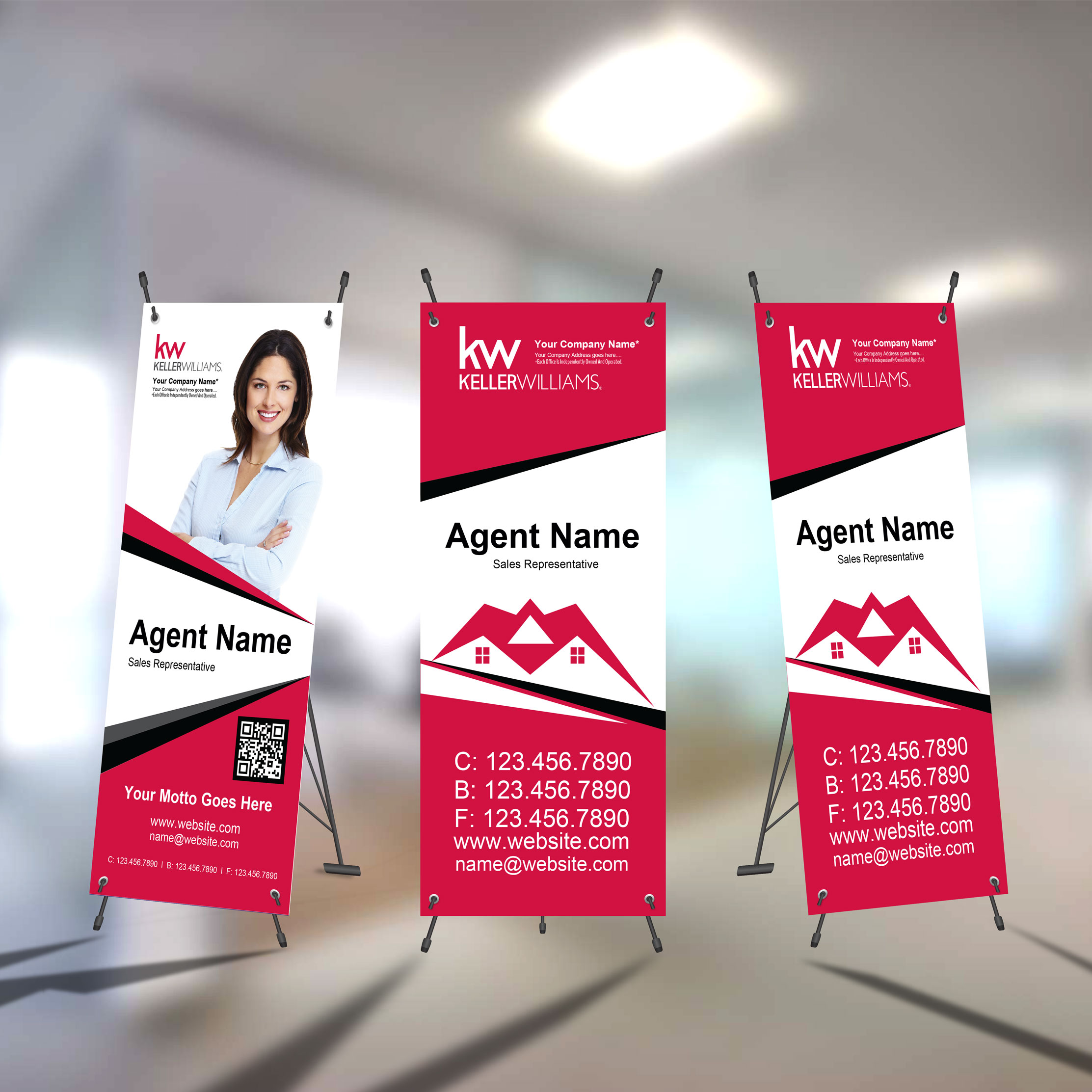 X-Frame Banners<br><br> - Keller Williams
