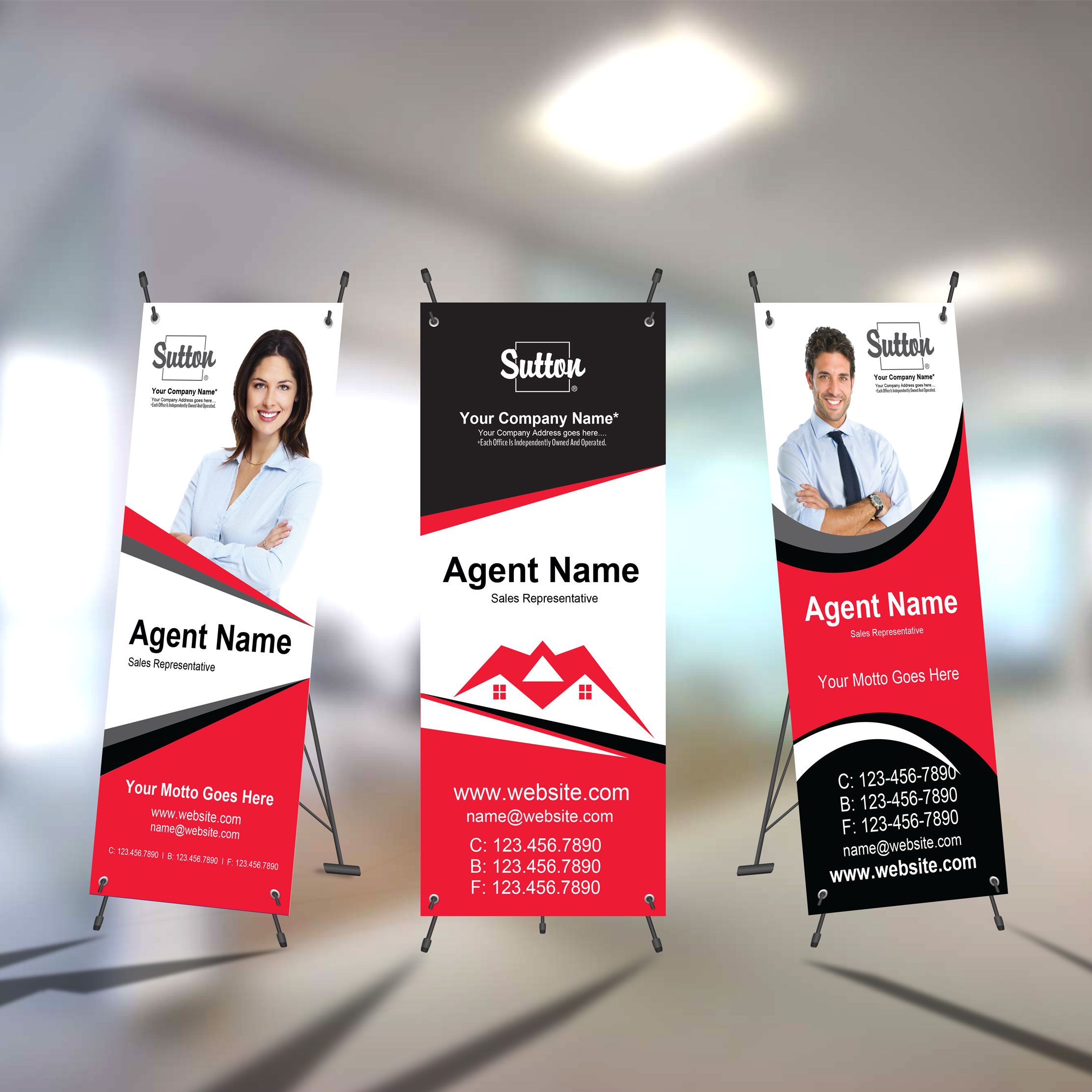 X-Frame Banners<br><br> - Sutton