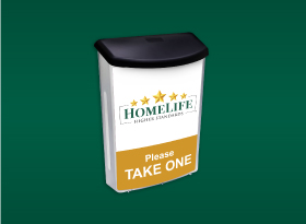 Brochure Boxes - Homelife