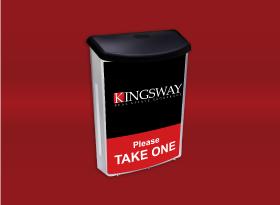 Brochure Boxes - Kingsway