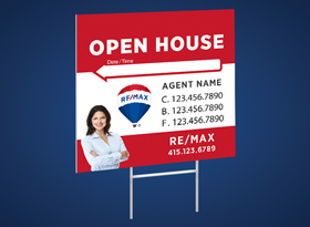 Directional Signs (10mm) - RE/MAX
