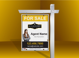 For Sale Signs - Main Street Realty