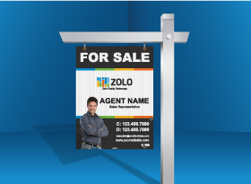 Zolo</br>For Sale Signs