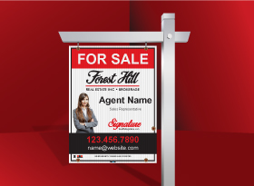 For Sale Signs - Forest Hill