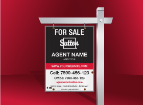 For Sale Signs - Sutton