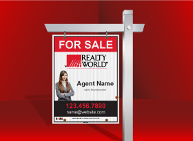 For Sale Signs - Realty World