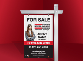 For Sale Signs - Royal LePage