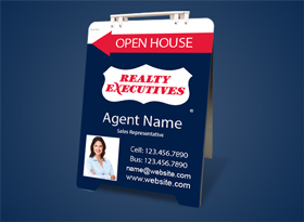 Sandwich Boards (With Feet) - Realty Executives