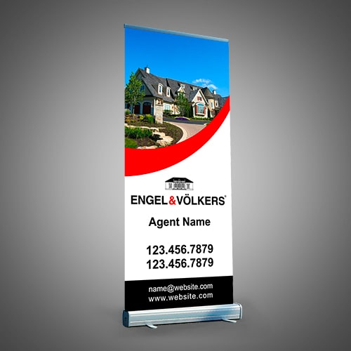 Roll-Up Banners - ENGEL & VOLKERS