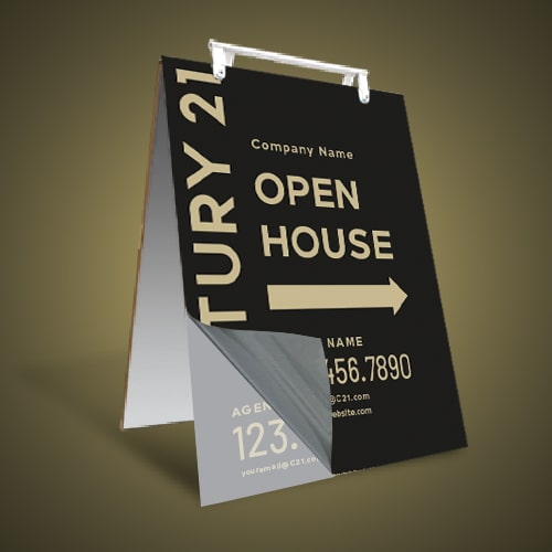 Sandwich Boards Reface and Repair - Century 21