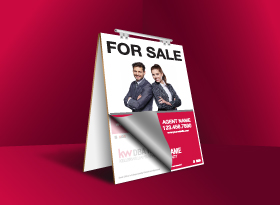 Sandwich Boards Reface and Repair - Keller Williams