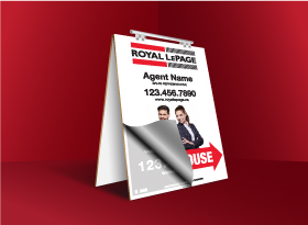Sandwich Boards Reface and Repair - Royal LePage