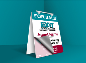 Sandwich Boards Reface and Repair - Exit Realty