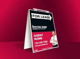 Sandwich Boards (Standard) - Keller Williams
