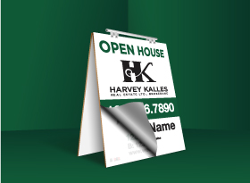 Sandwich Boards Reface and Repair - Harvey Kalles Real Estate