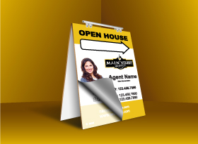 Sandwich Boards Reface and Repair - Main Street Realty