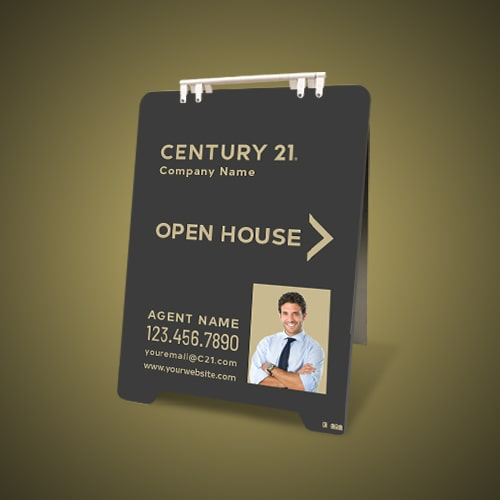 Sandwich Boards (With Feet) - Century 21