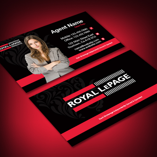 Agentprint royal lepage business cards canadas favourite agentprint royal lepage business cards canadas favourite real estate sign supplier reheart Images