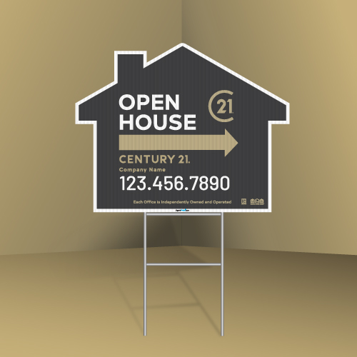 Directional-signs-house