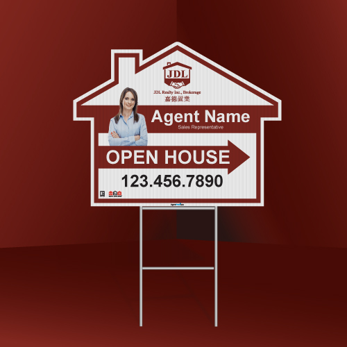 Directional signs house