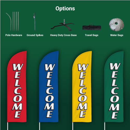 Stock-Feather-Flags-Welcome